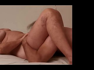 Licking 77 year old pussy