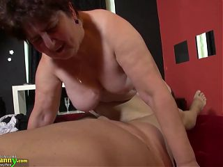 OLDNANNY – Compilation Of Hot Mom Sex Adventures