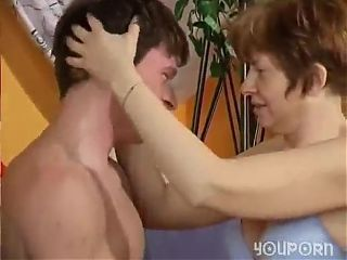Granny fuckers young cock