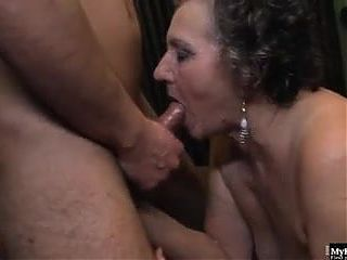 Granny Decides To Relax And She Has Sex With Her boytoy