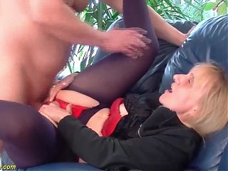 first anal for 85 year old mom