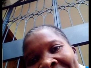 African ebony mom does video chat with Indian – part 2, cumshot
