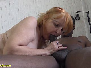 78 years old mom loves black stepson